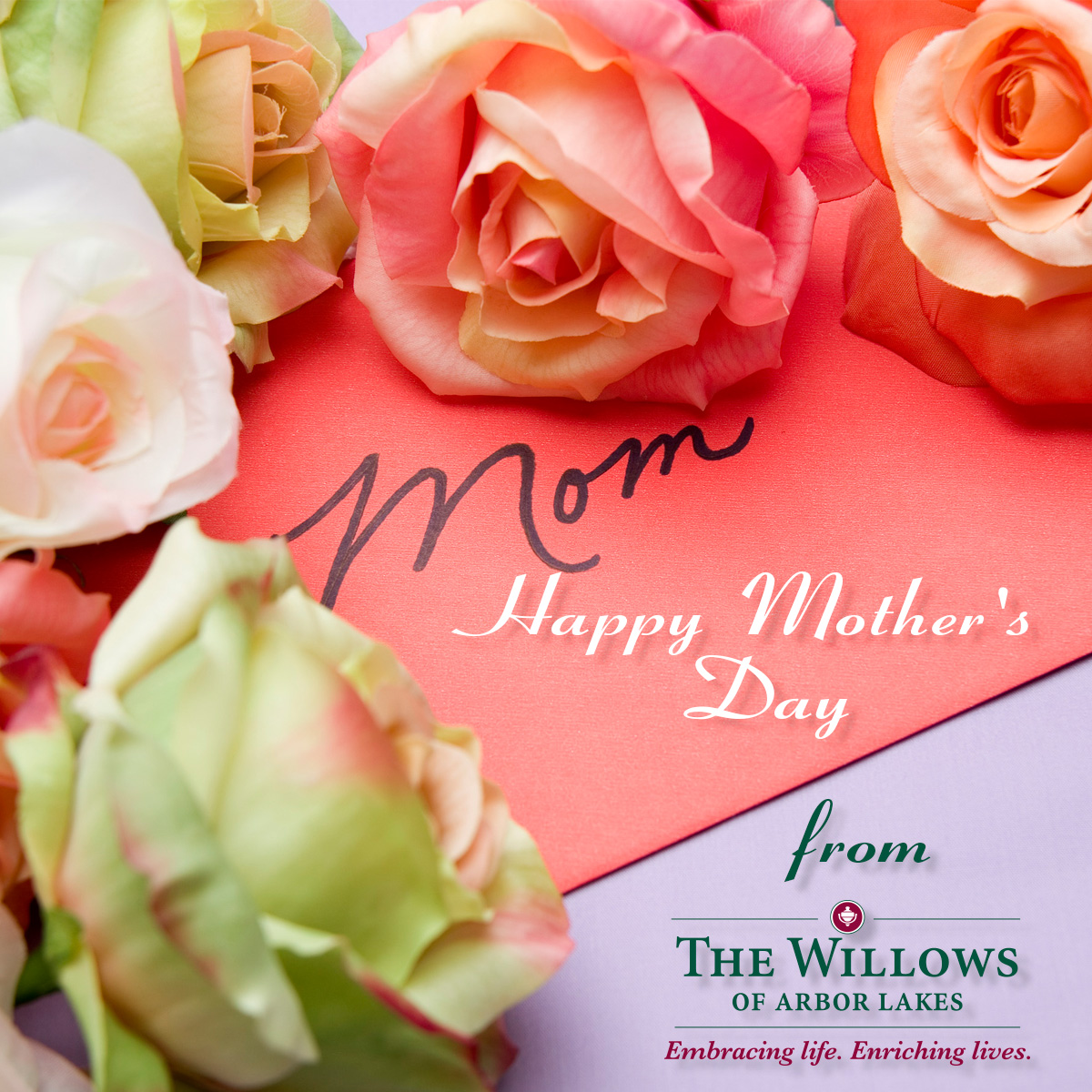 Mother's Day, Willows of Arbor Lakes Senior Living, Maple Grove, MN