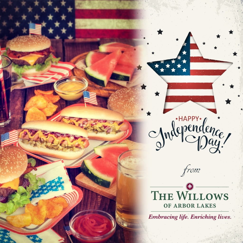 Fourth of July, Willows of Arbor Lakes Senior Living, Maple Grove, MN