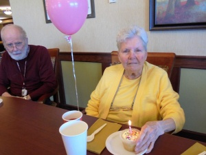 Beverly Birthday, Willows of Arbor Lakes Senior Living, Maple Grove, MN