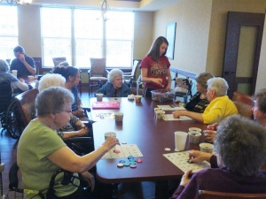 Bingo, Willows of Arbor Lakes Senior Living, Maple Grove, MN