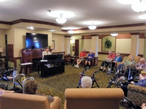 Crooner Dean, Willows of Arbor Lakes Senior Living, Maple Grove, MN