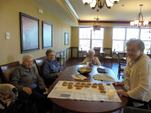 Oatmeal Cookies, Willows of Arbor Lakes Senior Living, Maple Grove, MN