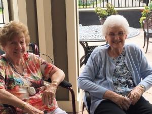 Patio Time, Willows of Arbor Lakes Senior Living, Maple Grove, MN