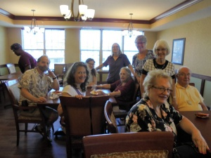 Family Barbeque, Willows of Arbor Lakes Senior Living, Maple Grove, MN