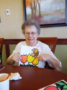 Summer Craft, Willows of Arbor Lakes Senior Living, Maple Grove, MN