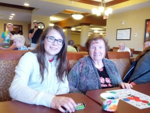 Bingo, Maple Grove Evangelical Free Church, Willows of Arbor Lakes Senior Living, Maple Grove, MN