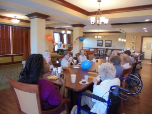 Pete's 60th Birthday, Willows of Arbor Lakes Senior Living, Maple Grove, MN