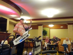 Randy Rolloff Music, Willows of Arbor Lakes Senior Living, Maple Grove, MN