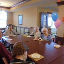 october birthdays, senior living, willows of arbor lakes mn