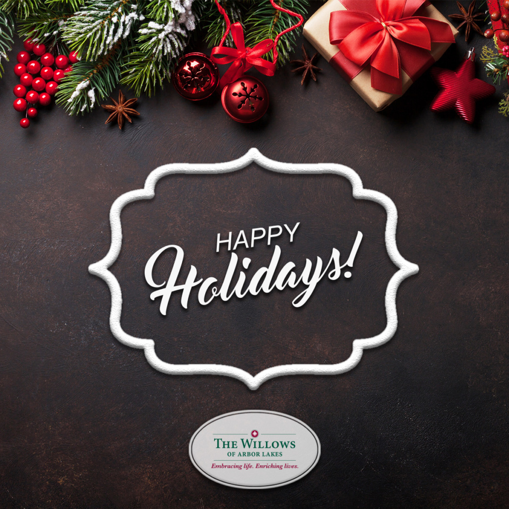 Happy Holidays from the Willows at Arbor Lakes