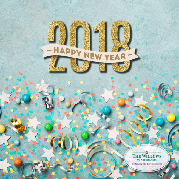 Happy New Year from the Willows of Arbor Lakes