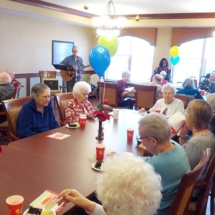 December Birthdays at the Willows of Arbor Lakes