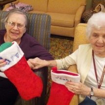 Stockings at the Willows of Arbor Lakes