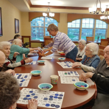 Bingo at the Willows of Arbor Lakes